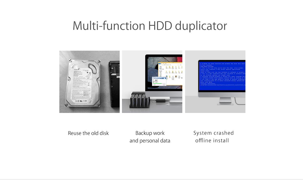 multi-function HDD duplicator