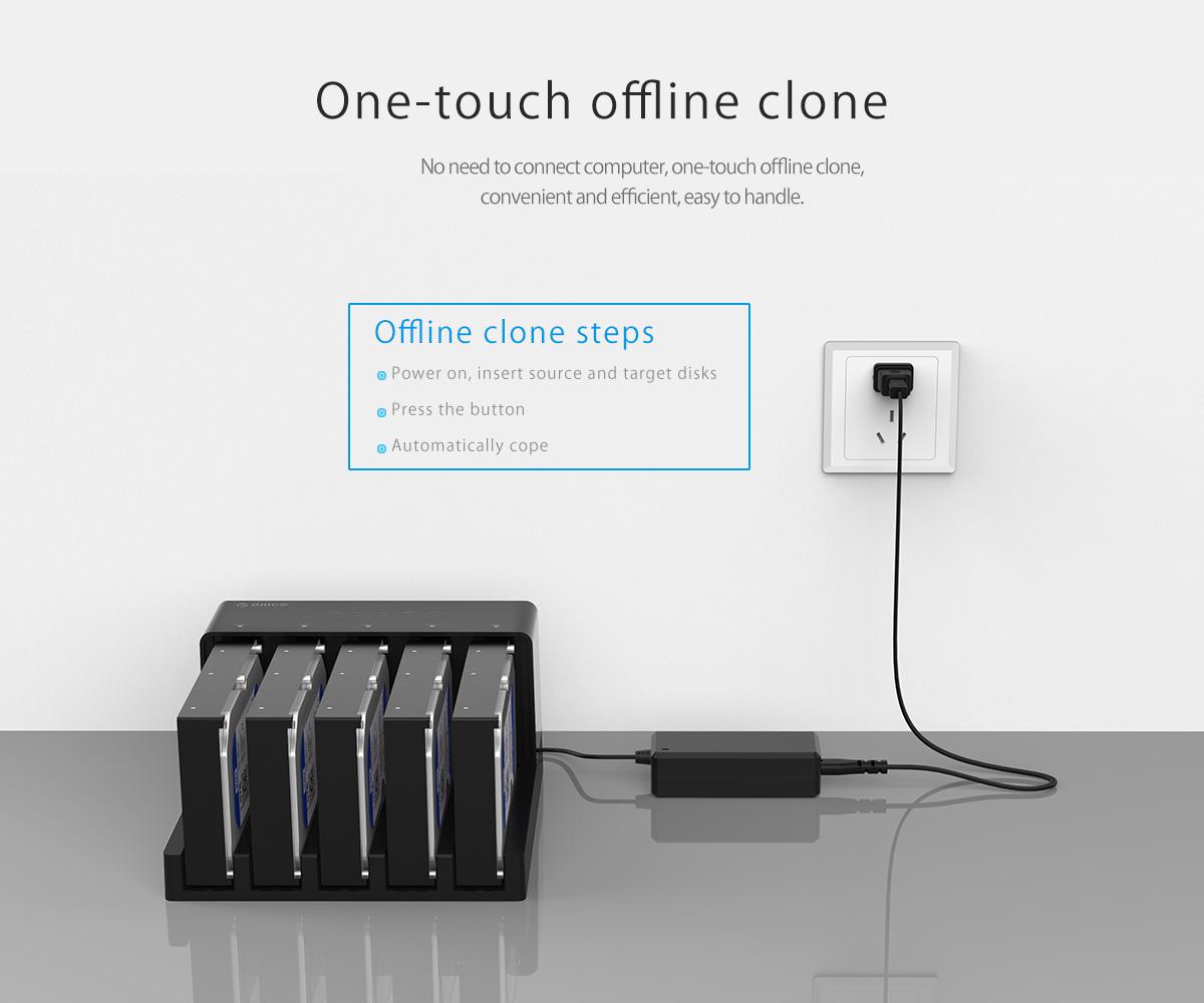 one-touch offline clone