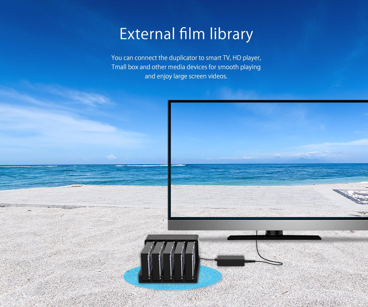 external film library