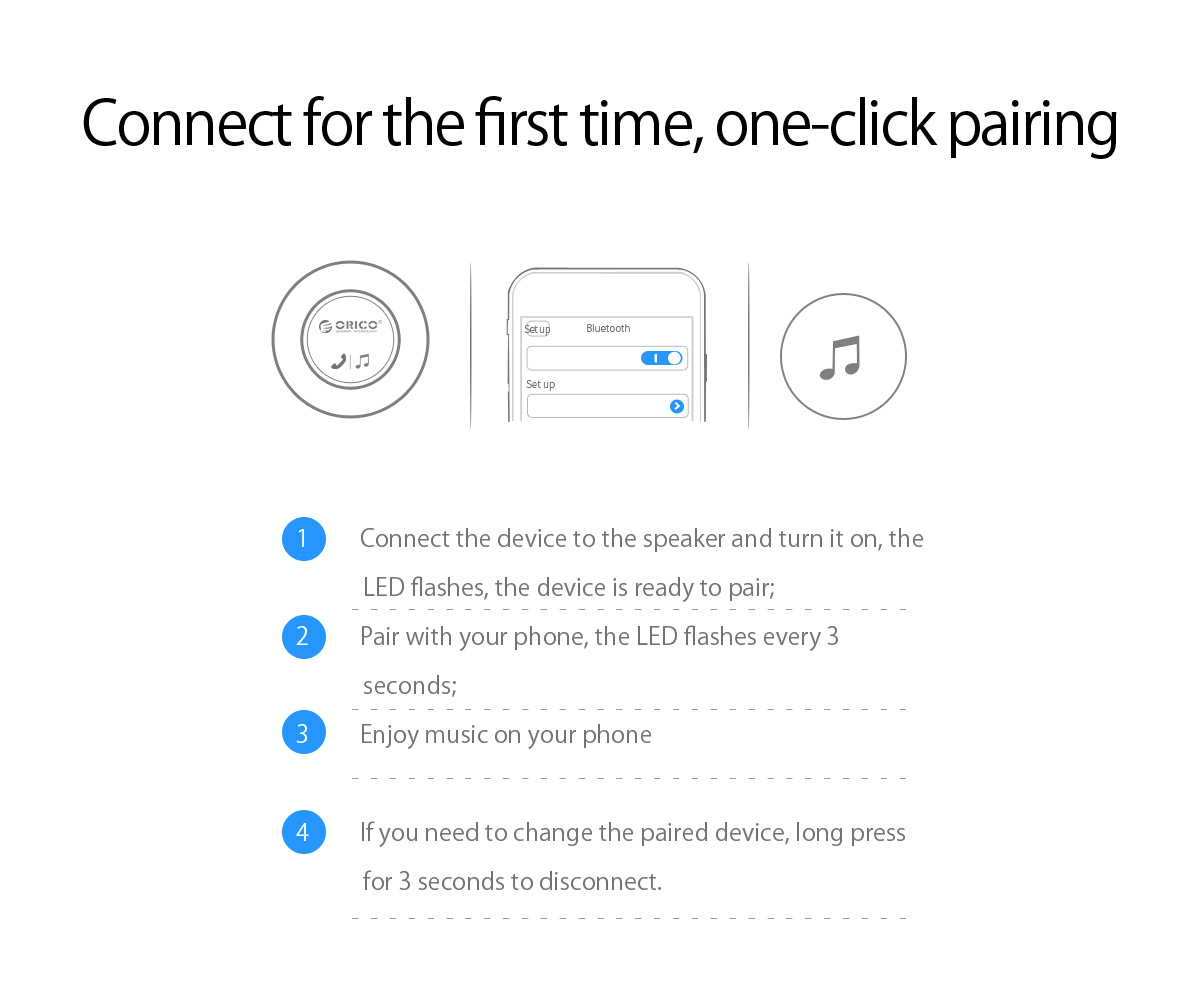 one-click pairing