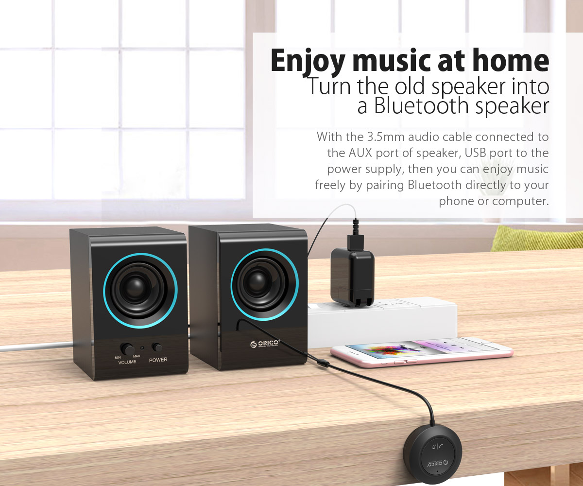 turn the old speaker into a Bluetooth speaker
