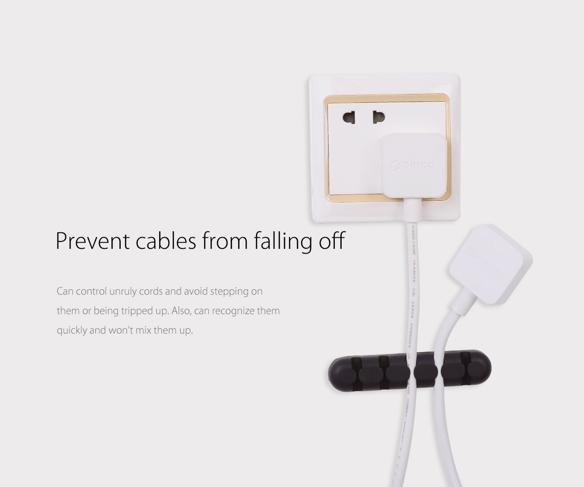 prevent cables from falling off