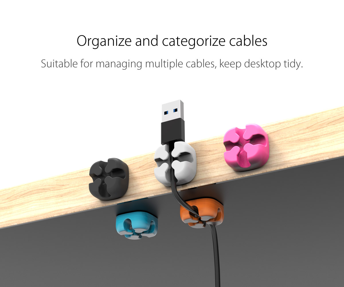 organize and categorize cables