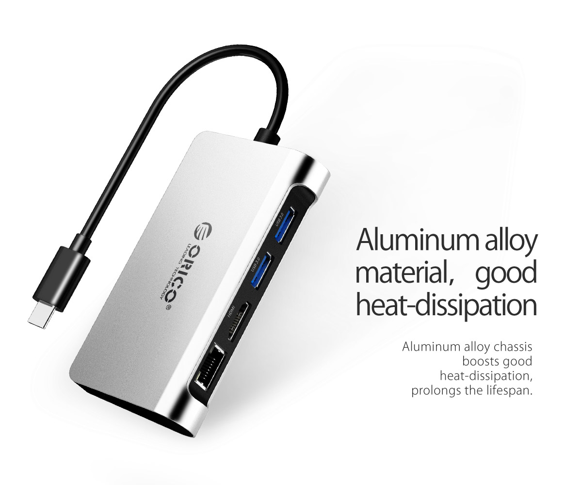 the pd docking station is made of aluminum alloy material