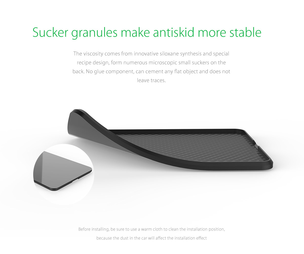 sucker granules make antiskid more stable