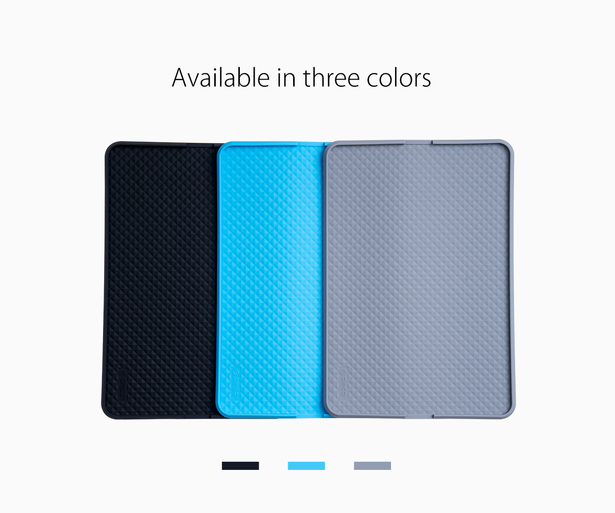 available in three colors
