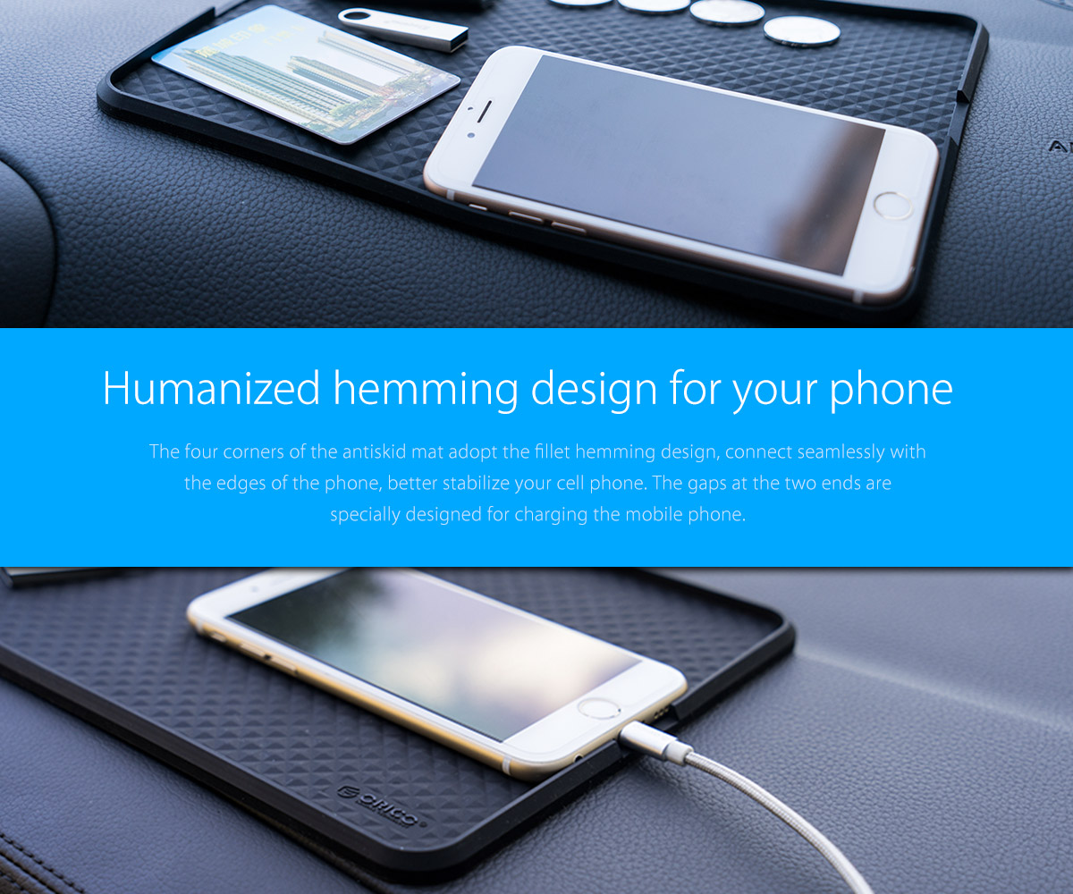 humanized hemming design for your phone