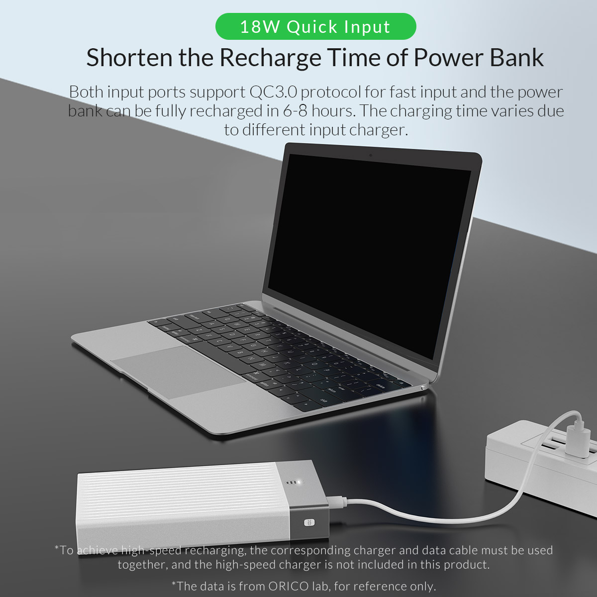 two-way quick charging power bank