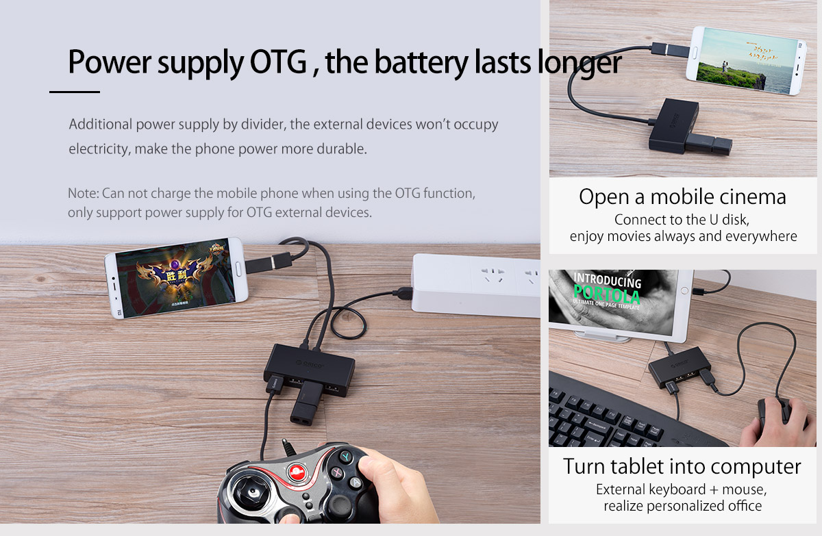power supply OTG