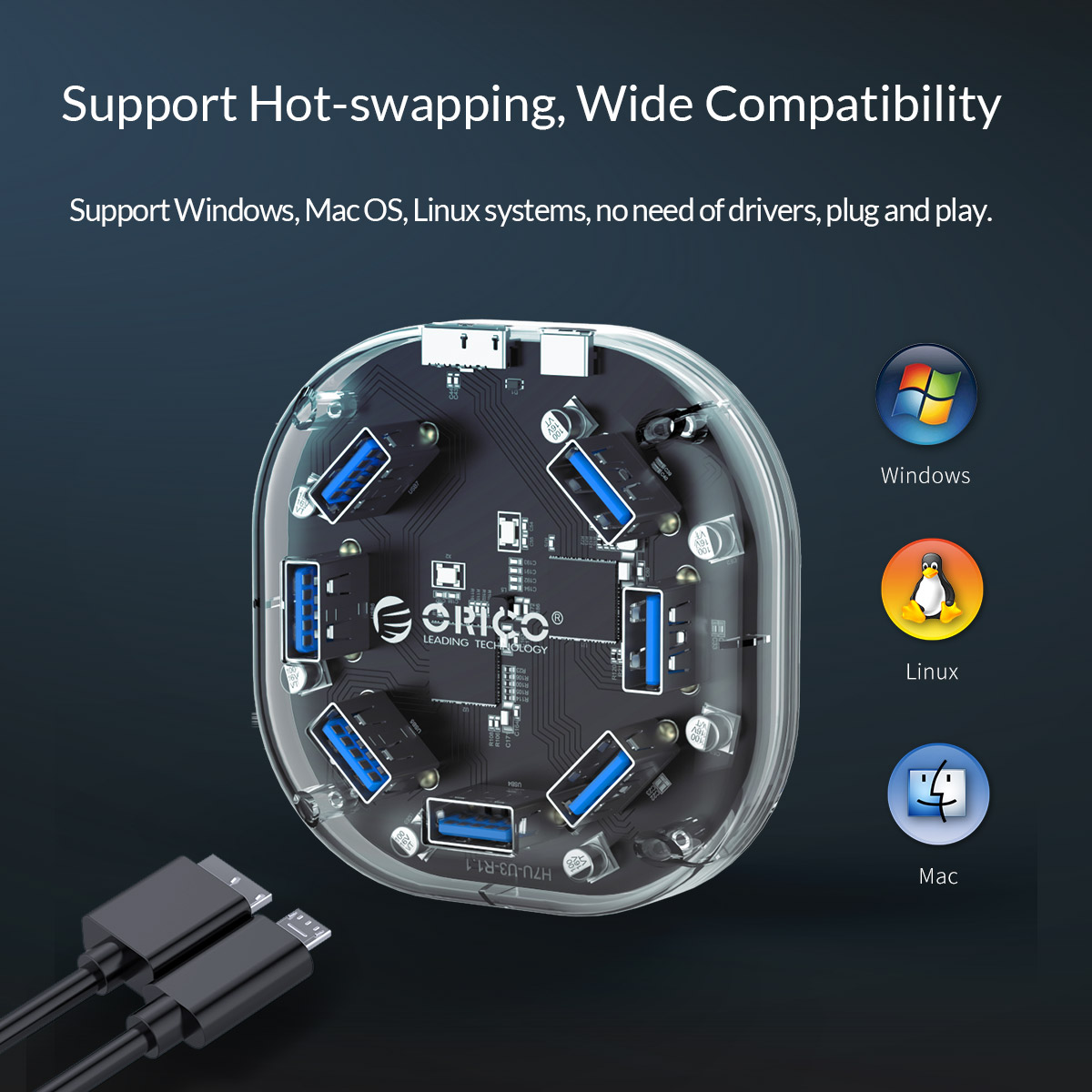 support hot-swapping