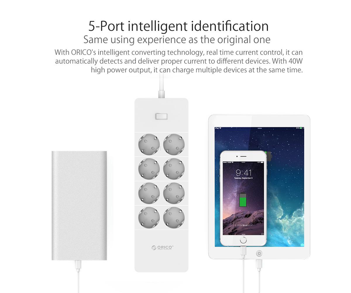 5-port intelligent identification