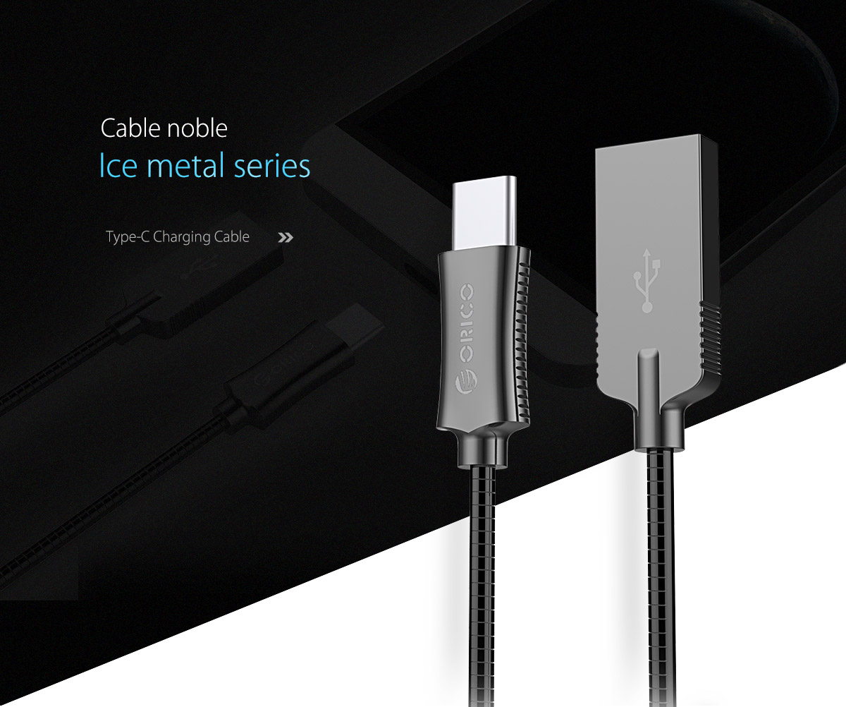 metal type-C data cable