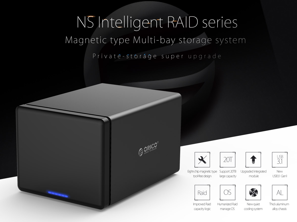 intelligent raid series, magnetic type storage system