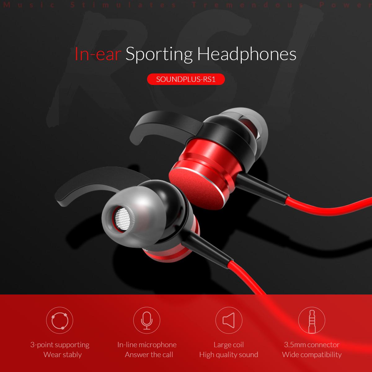 in-ear sporting headphones