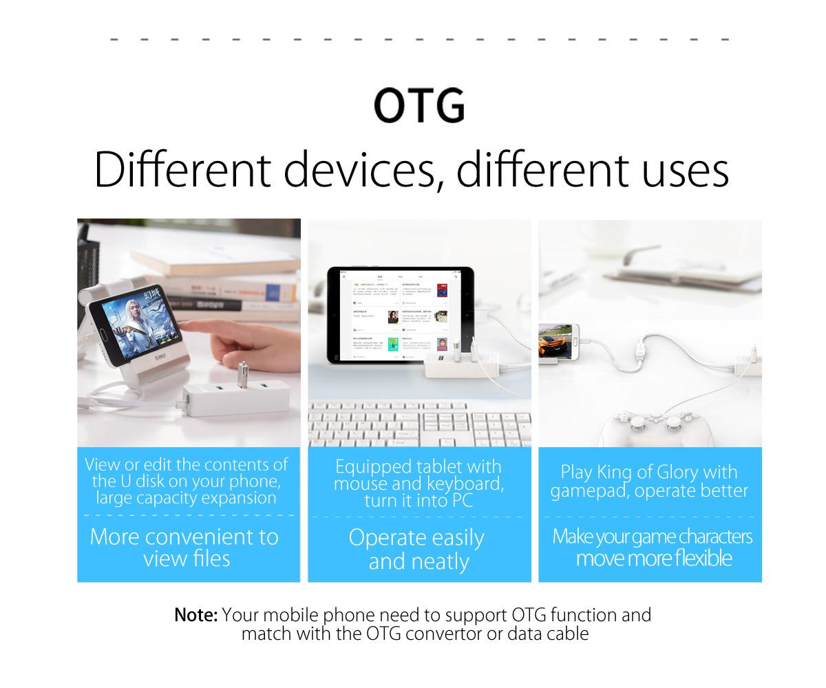 OTG functions