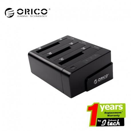 "ORICO 6638USJ 3bay 2.5""&3.5""SATA HDD docking station"