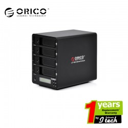 ORICO 9548RUS3-C 4bay 3.5'' External HDD Enclosure with LCD Display