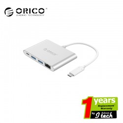 ORICO RCR2A Aluminum ORICO Type-C to Type-C / USB3.0 /RJ45 Adapter