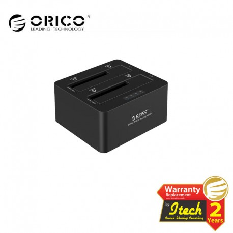 ORICO 6629S3 Dual Bay SATA3.0 to USB3.0 Docking Station