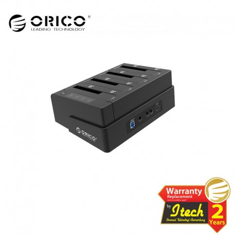 ORICO 6648US3-C 2.5 & 3.5 inch SATA2.0 USB3.0 1 to 3 Clone External Hard Drive Dock