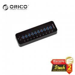 ORICO P10-U3 Hi-Speed 10 Ports USB3.0 HUB with power adapter