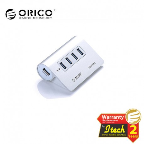 ORICO M3H4 Aluminum Alloy Housing 4 Port Super Speed USB3.0 Hub Controller
