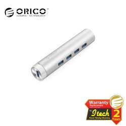 ORICO ARH4-U3 Aluminum 4 Port USB3.0 Hub with Type-A and Type-C Cable