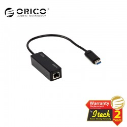 ORICO UTR-U2 - USB2.0 Fast Ethernet Network Adapter with 3.3 Ft. USB2.0 Cable