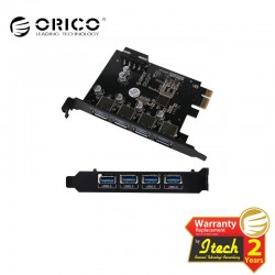 ORICO PME-4U USB 3.0 4 Port PCI Express to USB3.0 Host Controller Adapter Card
