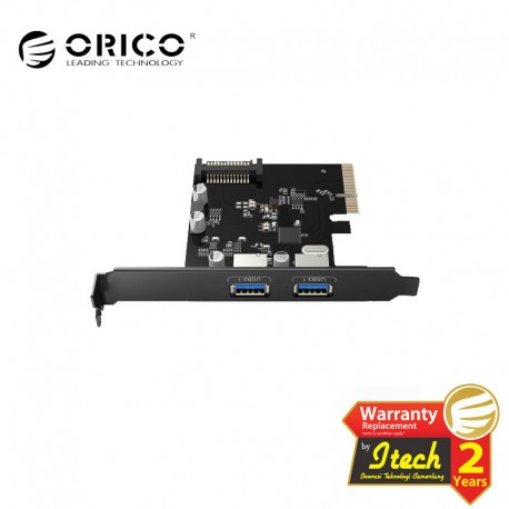 ORICO 2 Port USB3.1 PCI-E Adapter (PA31-2P)