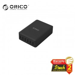 ORICO DCAP-6S 6-Port USB Smart Charging Station with Intelligent Charging IC