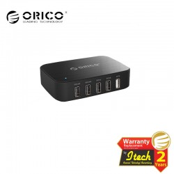 ORICO DCT-5U ( 5 Ports Smart Mobile Phone Charger with OTG Port )