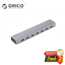 ORICO AS7P-U3-SV 7 port USB3.0 super speed hub