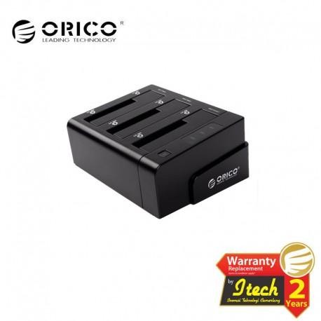 "ORICO 6638USJ-C 3bay 2.5""&3.5""SATA HDD docking station"
