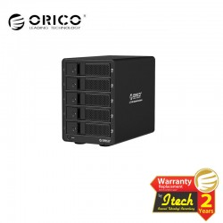 ORICO 9558U3 5bay 3.5in HDD Enclosure with SuperSpeed USB3.0