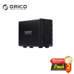 ORICO 9558RU3 USB 3.0 RAID FIVE Bay Hard Drive Enclosure