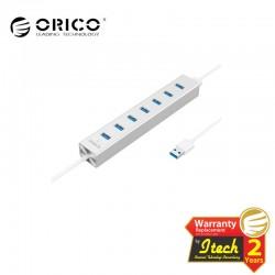 ORICO H7013-U3-SV Alumium 7 Ports USB3.0 HUB