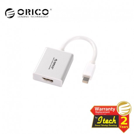 ORICO DMP3H Mini Displayport to HDMI Adapter Built-in 10 cm Data Cable