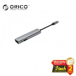 ORICO CLH-W3 Aluminum Alloy Type-C to HDMI / Type-C / USB3.0 / SD / TF Docking Station