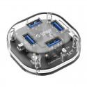 ORICO H4U-U3 4-Port Transparent HUB