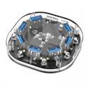 ORICO  H7U-U3 7 Port USB3.0 Transparent HUB