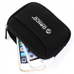 ORICO 2.5 inch Hard Drive Protection Bag - Black (PHK-25)