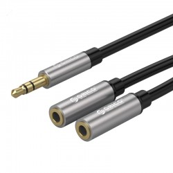 ORICO AM-2F1 ORICO 2 in 1 3.5mm M to F Audio Cable