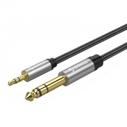 ORICO AM-DSM1-10 3.5mm to 6.35mm M/M Audio Cable - 1METER