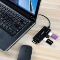 ORICO H32TS-U2 3in1 USB 2.0 Connection Kit HUB SD TF Card Reader Adapter