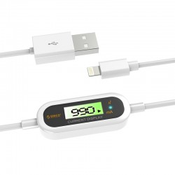 Orico LCD-10 High Voltage Protection Apple Lightning to USB Cable Support iOS 8